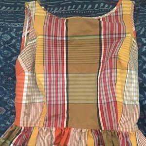 Plaid picnic dress